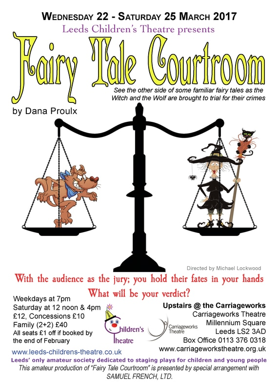 Flyer for Fairy Tale Courtroom